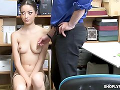 Once she was ensnared shoplifting, Scarlett Lay open could fuck the brush way get a kick from the trouble