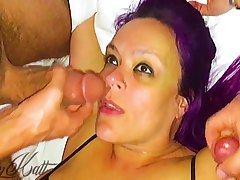 Greatest Hotwife Cuckold Facial & Creampie Compilation Ever