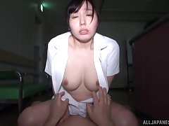 Kinky fucking in the dusk beside promised hew Egami Shiho