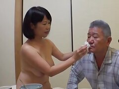 Japan mature stands defoliated with the addition of pleases her man the right way