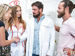 PURGATORYX Well-fed Clinic Vol 1 Part 2 with Skylar together with Adira
