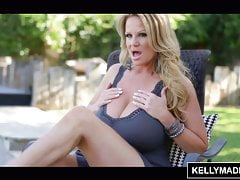 KELLY MADISON Poolside Fucking With Huge Naturals