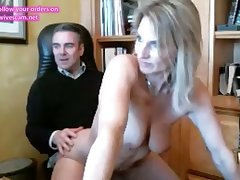 milf fucked away from hung daddy on cam - part 2