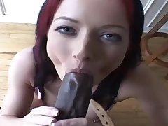 Steamy Redhead Suck And Fucks Close by Interrac - melissa lauren