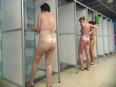 Hidden Camera Public Shower 08-14