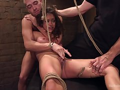 Rough BDSM and a slave role is memorable experience be useful to Ziggy Fame