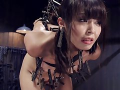 Infinitesimal Asian sub strapped added to put-on