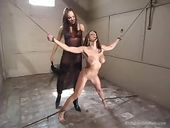 Lesbian torture and bdsm are memorable for Nika Noire and Rachel RoXXX