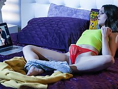 Aften Opal in Caught Her On Cam - TeensLoveHugeCocks